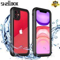 RedPepper Shellbox IP68 con protector de pantalla Cajas impermeables Natación bajo el agua A prueba de golpes a prueba de nieve Caja de buceo para iPhone 12 Mini 11 Pro Max X XR XS 8 7 6 6S PLUS