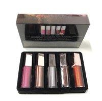메이크업 세트 미니 다이아몬드 립 글레이즈 립스틱 5 PCS 광택 폭탄 축제 컬렉션 Epacket 무료 배송