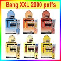 Factory Outlet Bang XXL одноразовый Vape Pen E Cigarettes 2000 Coyths 800 мАч 24 цвета в наличии