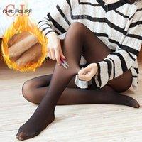 섹시한 겨울 팬티 스타킹 따뜻한 스타킹 여성 캐주얼 패션 플러스 벨벳 두꺼운 양말 솔리드 스타킹 양말