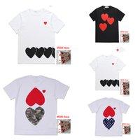 T-Shirt der Frauen-T-Shirt Bestickte Liebe Kurzärmelige Paare Hohe Qualität Beiläufige lose Version für Männer und Frauen 0101