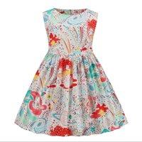 Summer letter print dress multicolor round neck vest skirt