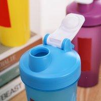 مسحوق البروتين الرياضي هز زجاجات كوب الحليب الرياضة المحمولة التحريك شاكر أكواب المياه البلاستيكية FWD7237