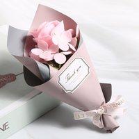 Fábrica al por mayor creativo único rosa mano jabón flor de la madre día mini ramo regalo regalo regalo gga4349
