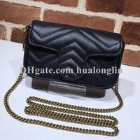 Frauen Tasche Handtasche Original Box Datum Code Seriennummer Echtes Leder Geldbörse Schulter Kreuz Körper Messenger