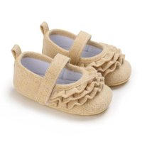 First Walkers Toddler Shoes 0-1 Year Old Female Baby Princess Soft-soled Indoor Crib Born Girls Footwears