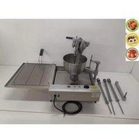 Máquina de freidadora de donas de costo manual / Donut Ball Maker Total con 3 Moldes de rosquillas Pan Makers