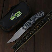 Green Thorn Pero Переворачивает складной нож D2 Blade подшипник G10 3D ручка кемпинг Открытый фруктовый нож практичный складной нож EDC