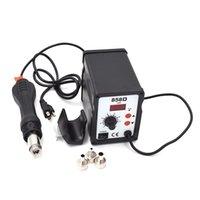 열 공기 송풍기 SMD 납땜 재 작업 스테이션 110V 220V 700W 858D 용접 수리 키트