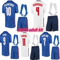 2021 2022 Erwachsene Kinderkit 21/22 Sancho Fußball Jersey Kane Sterling Vardy Rashford Dele Abraham Football Hemd Uniformen