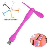 Andere Home Decor Mini USB Fan Flexibele Draagbare Verwijderbare Persoonlijke Gadgets voor alle Power Supply-uitvoer
