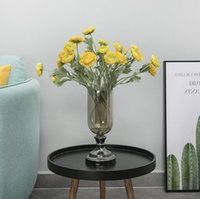 Künstlicher Ranunculus Asiaticus Hochzeitsdekoration Blume Seidesimulation Blumen für Home Party Dekor Dekorative Kränze