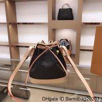 Haute Qualité 2020 Femme Femelle Joker Mini Bucket Bag d'épaule Son téléphone portable Petit Draw String Sac à main Sac à main Messenger Messenger The Desi
