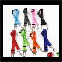 Collars Leashes Supplies Home & Garden Pet Safety Vehicle Car Seat Belt Elastic Reflective Dog Seatbelt Harness Lead Leash Clip Levert Drop D