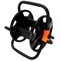 Garden Hoses Reel Pipe Storage Cart Exclude Winding Tool Rack Portable Watering Equipments