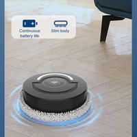 Automatic Mopping Vacuum Cleaner Robot Smart Floor Cleaning Rechargeable battery power 1200mah Sweep Dry Wet Sweeping clean