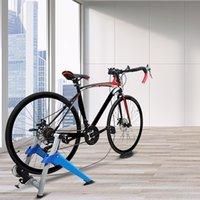 Waco Bike Turbo Trainer, магнитный велосипед Стационарное подставка для подставки для внутренних упражнений, портативный, быстрый релиз SKEWERFRONT ROWER ROISER BLOSH входит, синий