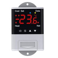 Smart Home Control Wireless Wifi Temperature Controller Thermostat AC110-220V DTC1201 NTC Sensor Digital Display APP For