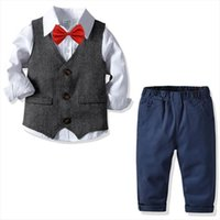 Toddler Boy Clothes Summer Children Clothing Baby Boys Gentleman Sets For Kids T Shirt Jeans Sport Suits Outfits