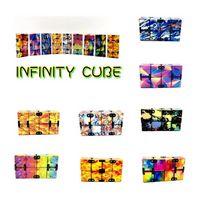 Infinity Magic Cube Creative Sky Fidget AntiStress Игрушки Office Flip Cubic Puzzle Mini Blocks Декомпрессия Смешная игрушка 4966