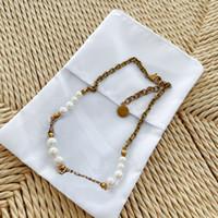 Collana con diamanti Collana a catena per donna collana per perle per perle collana lunga collana di fascino