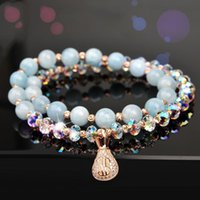 Beaded, Strands Mer Of The Sea Natural Crystal Bracelet For Women's Hand Ornaments Strand Bracelets Fashion Jewellery