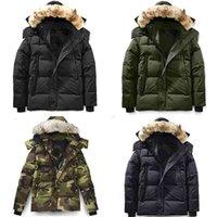 Männliche Winter-Daunenjacke Puffer Parka mit Kapuze dicker Mantel Männer Downs Jacken Wärme Mäntel für Herren Kaltschutz Winddicht Outwear