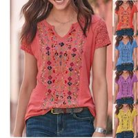Women's T-Shirt Taytayvola 2021 Fashion Casual Retro Printing O-neck Short-sleeved Summer Loose Top