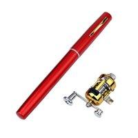 Accessori da pesca Mini Penna portatile Penna a porta asta Palo tascabile Tasche Attrezzatura per esterni