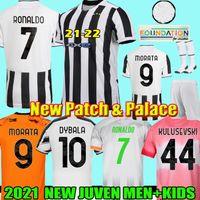 21 22 maillot de football de la juventus 2021 2022 juventus maillot de football RONALDO DYBALA DE LIGT MORATA KULUSEVSKI CHIESA McKENNIE BERNARDESCHI soccer jersey