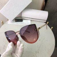 2021 العلامة التجارية الشمس النظارات الشمسية الفاخرة القيادة مرآة ساحة القط العين إطارات الرياضة 0965 الاستقطاب النظارات السوداء مصمم للنساء الإطار حملق uv400