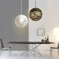 Modern LED pendant lamp with metal spheres for contemporary decor, living room, bedroom, shop, bar PL-2020K