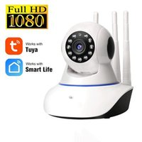 Cameras 1080P Wireless WiFi Camera Home Security Monitoring Indoor IP 360 PTZ Baby Monitor