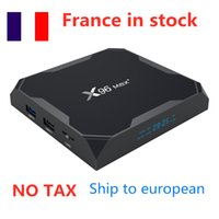 Ship from france X96 max plus Smart TV Box Android 9.0 S905X3 4GB 32GB 2.4G 5G DUAL Wifi 8K media player