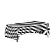 137 * 274 سنتيمتر أسود أبيض متقلب سماط الجدول غطاء العلم سباق السيارات الرياضة موضوع الاطفال حفلة عيد الطفل دش الديكور المتاح دين