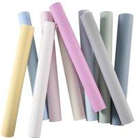 Sfondi Luckyyj Solid Color Wallpaper Peel e bastone Pellicola rimovibile autoadesiva per armadietto Scaffale Liner Wall Sfadrop
