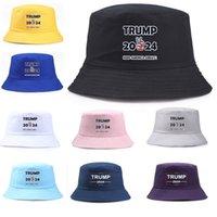 2024 Trump Cap EE. UU. Sombrero Presidencial Sombrero Hombres Mujeres Cubo Mantenga América Gran gorra Presidente Trump Letras Pescador Hat Cap Visor HH21-170