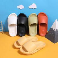Hausschuhe Herren Sommer Trend Shell Slipper Indoor Dick-Sohlen Super Light Mute Haushaltspaare Flip-Flops Frauen Größe 36-45