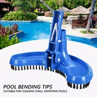Pool & Accessories Frame Net Skimmer Cleaner Swimming Vacuum Brush Head Nozzle Replacement Parts Half Moon Cleaning Brushes