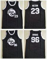 Herren-Turnier schießen Birdmen # 23 motaw Basketball-Trikots 96 Birdie 54 Kyle Watson über der RIM-Moive-Schwarz genäht Hemden