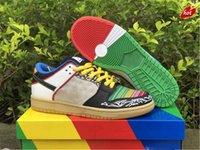 2021 أصيلة dunk ما رجل رود رجل أحذية أحذية الأحذية CZ2239-600 الرياضة أحذية رياضية مع المربع الأصلي