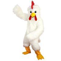 Weißadler Vogel Hühnermaskottchen Kostüme Weihnachten Halloween Outfit Fancy Dress Anzug Freies Schiff