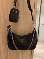 Vier Jahreszeiten modische Persönlichkeit Leinwand Hip-hop Damen Umhängetasche Damen Handtasche Nylon wasserdicht und verschleißfeste Brieftasche Messenger Bag # 14