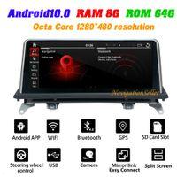 Android 10.0 Car DVD player para BMW X5 E70 x6 E71 2010-2013 CIC Estéreo GPS Navegação Multimedia Audio IPS Tela