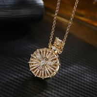 Silver Love Jewelry Hollow Out perfume Bottle Essential Oil Diffuser Necklace Women Gold Pingente Necklaces & Pendants