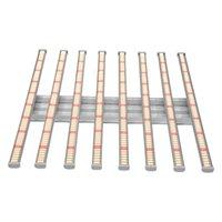 Akıllı Tam Spektrumlu Kapalı LED Işıkları Büyümek 8bar 600 W 640 W Yüksek Parlaklık Dimmed Bitki Lambası, Sera Dikim için kullanılan