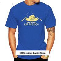 T-shirts hommes Nuevo Los Pobres Comer Rico Banquero Camiseta T-shirt