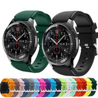 20mm 22mm Riemen für Samsung Galaxy Uhr 3 / 46mm / 42mm / aktiv 2 Gang S3 Frontier / S2 Silikonarmband Huawei GT / 2 / 2E / GT2 Pro-Bands