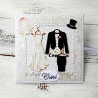 Craft Tools Wedding Dress Metal Cutting Dies Scrapbooking Embossing Card Decor