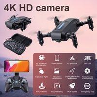 2021 EM9 Pro Katlanabilir Quadcopter HD Drone 4 K Uzun Pil Ömrü Profesyonel Drones Hava Video Kamera Mini RC Helikopter Drone